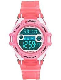 Relojes de Pulsera Electrónicos Para Niños Niños Digital Relojes Para Niños  Niñas Deportes–5 ATM Reloj… 88a74ae26cac
