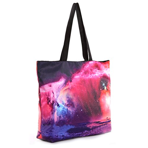 THENICE, Borsa a spalla donna Multicolore multicolore Medium Galaxy Star