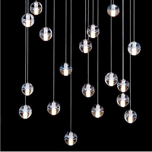 Lampe verre boule - Amazon luminaire suspension ...