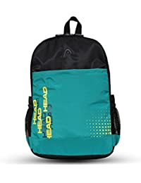 HEAD Booster 21 Ltrs Sea Green And Black Laptop Backpack (HD/BOO06BP)