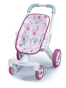 Smoby - 511222 - Poupée et Mini-Poupée - Baby Nurse - Poussette Pop