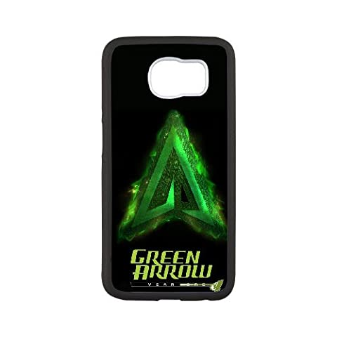 Custom personalized Case-Samsung Galaxy S6-Phone Case Green Arrow Design your own cell Phone Case Green Arrow