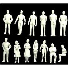 50stk .1:50 Modellbahn Sitzende Menschen Passagiere Sitzende Figuren