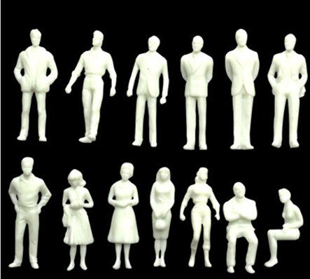 iiou-100pcs-150-simple-diy-unpainted-model-train-people-figures-scale-passengers