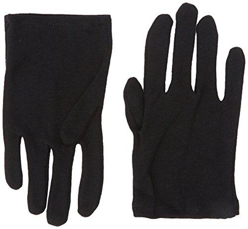 inder-Handschuhe, Baumwolle, Einheitsgröße, Schwarz ()