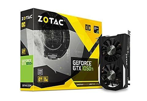 Zotac Geforce GTX 1050 Ti ZT-P10510B-10L OC Grafikkarte 4GB