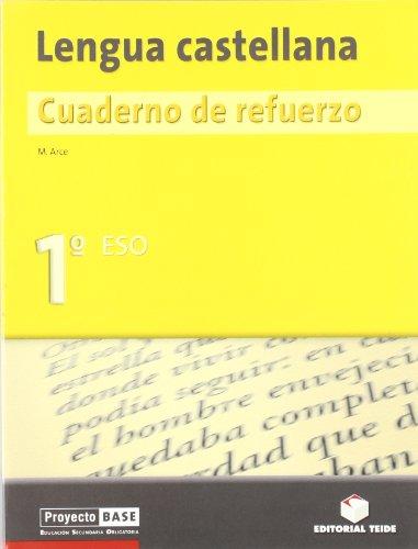 Cuaderno de refuerzo. Lengua castellana 1º ESO - 9788430748662