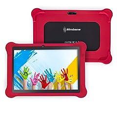 Idea Regalo - [4 Bonus Item] Simbans TangoTab 10 Pollici Bambini Tablet | 2 GB RAM, 32 GB Disco, Android 8.1 Oreo | Modello 2019 | GPS, WiFi, USB, HDMI, Bluetooth | IPS Schermo, 2 + 5 MP fotocamera PC