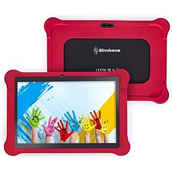 [4 Bonus Artículo] Simbans TangoTab 10 Pulgadas Tableta PC para Niños | 2 GB