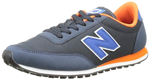 New Balance U410V1, Baskets Basses Homme, Noir