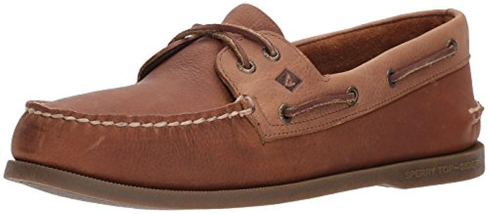 Sperry Top-Sider Men's a/O 2-Eye Daytona Boat Shoe, Tan/Sand, 10 Medium US
