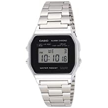Casio Collection Unisex Adults Watch A158WEA-1EF
