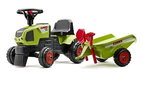 falk claas traktor Falk–1012C–Natursport–Claas Axos 310+ Anhänger + Zubehör