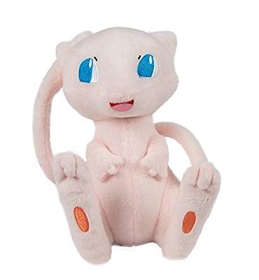 """Peluche Pokémon Peluche """"Mew"""", alta calidad de peluche para jugar y coleccionar. A partir de 3años, 20 cm por TOMY"""