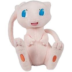 """Peluche Pokémon Peluche """"Mew"""", Alta Calidad de Peluche para Jugar y coleccionar. A Partir de 3años, 20 cm"""