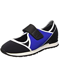 Bikkembergs Kate 664 L.Shoe Cut Out W Lycra/Leather, Sandalias con Plataforma Para Mujer