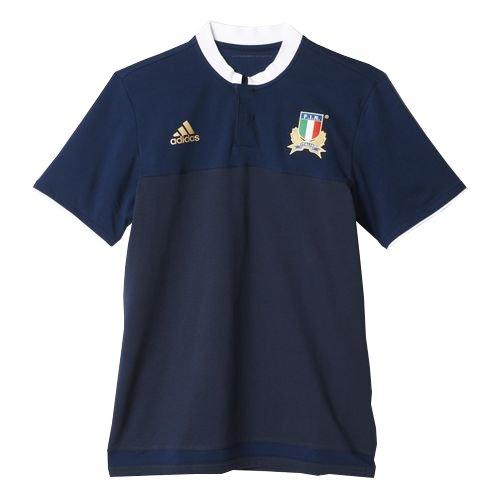 adidas Fir Anth Polo Herren T-Shirt, Marineblau/Weiß/Gold L Marineblau/weiß / vergoldet
