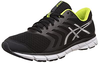 ASICS Men's Gel-Xalion 3 Carbon, Silver and Lime Running Shoes - 12 UK/India (48 EU) (13 US)