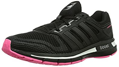 adidas Revenergy Mesh Boost, Women's Running Shoes, Black