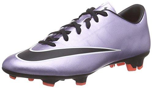 Nike Mercurial Victory V Fg Scarpe da calcio allenamento, Uomo, Urbn Lilac/Blk-Brght Mng-White, 44