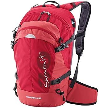 Trangoworld Summit UU Mochila, Unisex, Rojo, 30