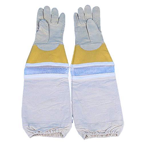 RMXMY Outdoor-Segeltuch-Fanghandschuhe, Bienenfangschlangen, Haustiere, Langer Schutz, kältebeständige Handschuhe