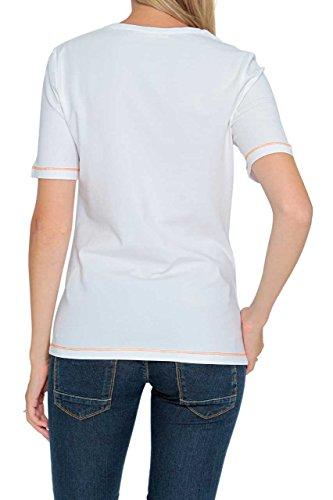 Basler Damen Shirt Motiv T-Shirt INDIA WB Weiß