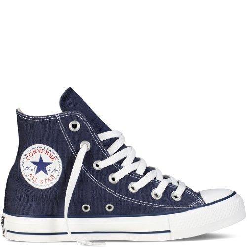Converse Unisexe Adulte Chuck Taylor All Star Seasonal Baskets Montantes Sneakers, Blanc, 3.5UK - Bleu - Bleu Marine, 39.5 EU