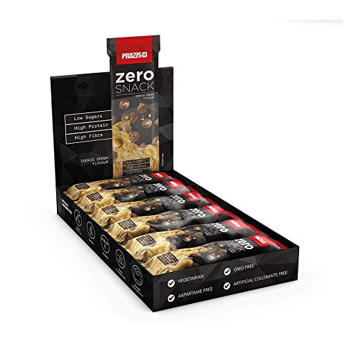 Prozis 12 x Zero Snack 35 g Miglior Gusto Ricco di Proteine e Basso Contenuto di Carboidrati e Zuccheri Ideale per Diete Dimagranti e per Rimanere
