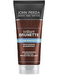 JOHN FRIEDA Brilliant Brunette Shampooing Nutrition Protection Couleur Mini Format Voyage 50 ml