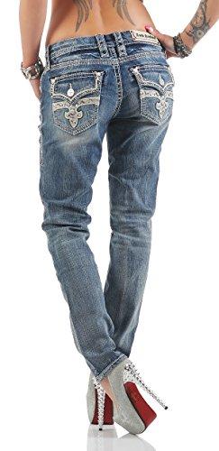 Rock Revival Damen Jeans Hose SUKIE S407 (W28)
