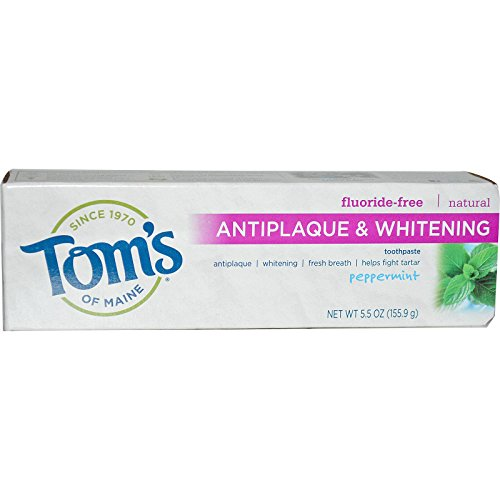 Maine Whitening Zahnpasta (Tom??S Of Maine Toothpaste Tartar Control/Whitening Peppermint 6 Oz by Tom's of Maine)