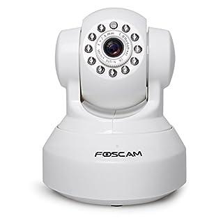 Foscam FI9816P Cámara IP vigilancia, 1MP,WIFI, seguridad, slot MicroSD, blanca (B00T7MYLJI) | Amazon price tracker / tracking, Amazon price history charts, Amazon price watches, Amazon price drop alerts