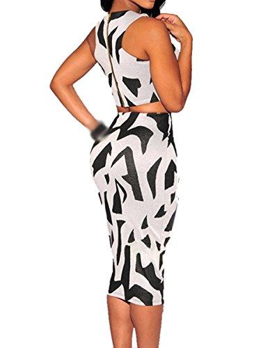 E-Girl FOB60057 femme Robes de Soirée cocktail Gris
