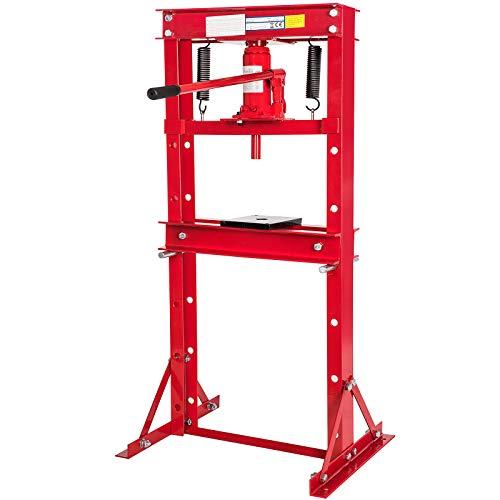 Werkstattpresse 12 Hydraulikpresse Werkstattpresse Rahmenpresse mit 12t Pressdruck