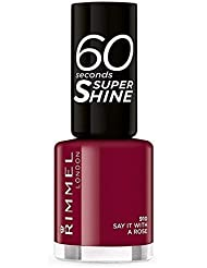Rimmel 60Seconds Super Shine Vernis couleur 910Say It With Roses