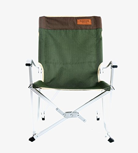 MUTANG Chaise de Loisirs en Plein air Ultra-léger en Alliage d'aluminium Maison Portable déjeuner Pause Fauteuil Chaise inclinable Rouge Vert (Taille : Green2)