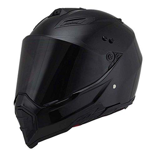 Woljay Off Road Helm Motocross-Helm Motorradhelm Motocrosshelme Fahrrad ATV (M, Schwarz) (Grafiken Schlanke)