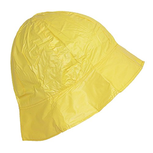 shedrain-womens-waterproof-vinyl-packable-rain-hat-yellow