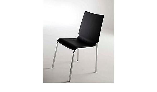 Set di 2 sedie eva di bontempi in polipropilene antracite: amazon