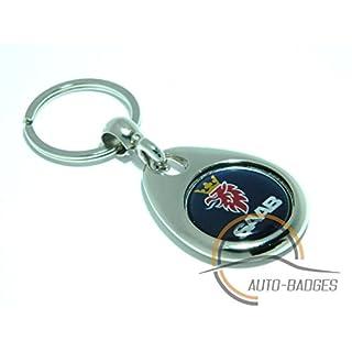 auto-badges Saab keyring saab scania key ring gift present birthday present