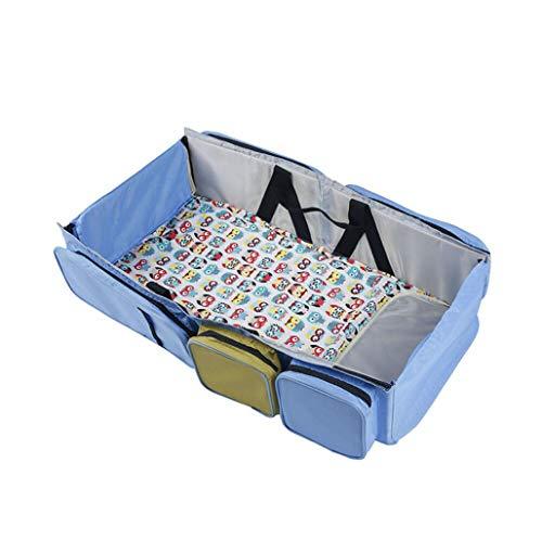 3-in-1-Multifunktions-Babyspielraum-Reisebett Multifunktions-Kinderbett Anwendbar 0-24 Monate Baby (Color : 1)