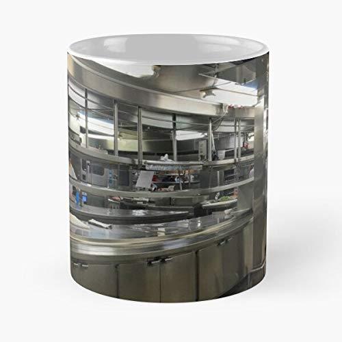 Kitchen Workers Ships Ship Bestseller Mode Geschenk Kaffeetasse schwarz, weiß, Farbe ändern 11 Unzen, 15 Unzen für alle