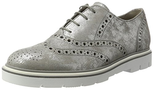 Gabor Shoes Fashion, Scarpe Stringate Donna Grigio (grau 69)