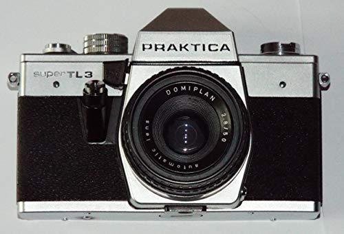 PRAKTICA super TL3 - Fotoapparat - analoge Spiegelreflexkamera inkl. Objektiv DOMIPLAN 2.8/50 Automatic Lens * SLR Camera * Technik geprüft - ok - by LLL*