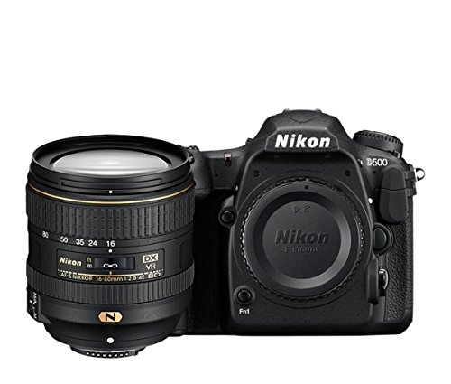 Nikon D500 20.9MP Digital SLR Camera (Black) with AF-S DX...