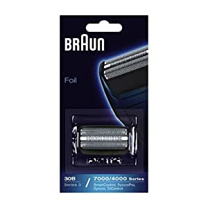 Braun - 81253257 - Grille 30B - Recharge grille pour rasoirs Series 3 / SyncroPro / Syncro / SmartControl3 / Tricontrol