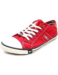 Mustang - Zapatillas de Material Sintético para hombre Rojo rojo
