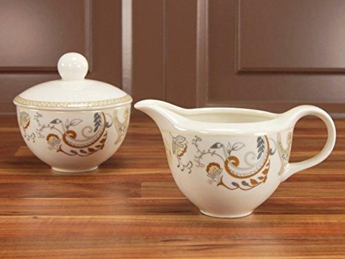 CreaTable 16658, Serie Palacio, Geschirrset Milch- und Zuckerset 2 teilig