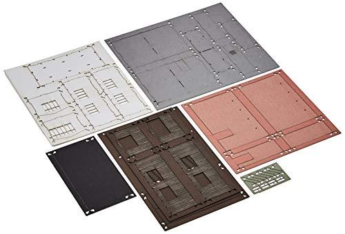 Joswood 19010 - Kit de construcción, 100 x 43 x 100 mm, diseño de Bulla del Mundo con Corte láser, Color Rojo